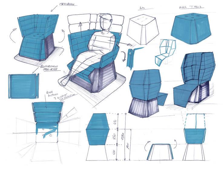 OCTO_8: Salon de style  par Xavier Bance