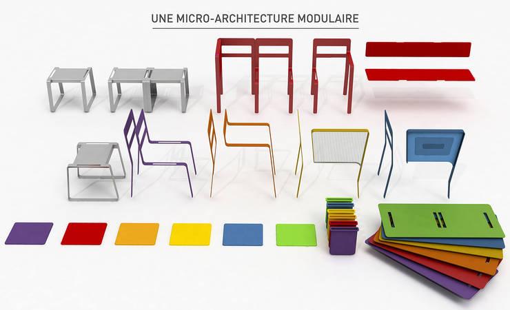 Plix_4: Salon de style  par Xavier Bance