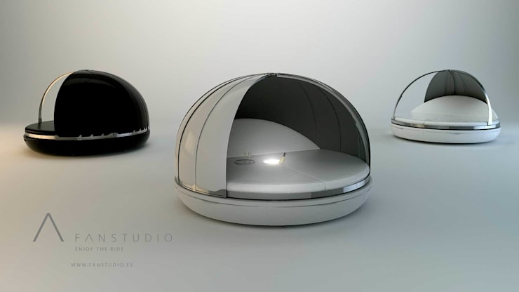 ZERO COLLECTION: Jardín de estilo  de FANSTUDIO__Architecture & Design