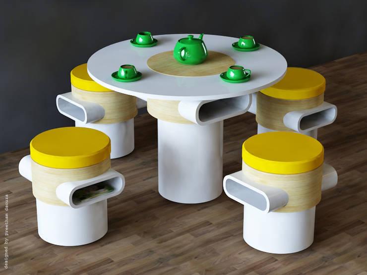 Unique Furniture Designs:  Spa by Preetham  Interior Designer