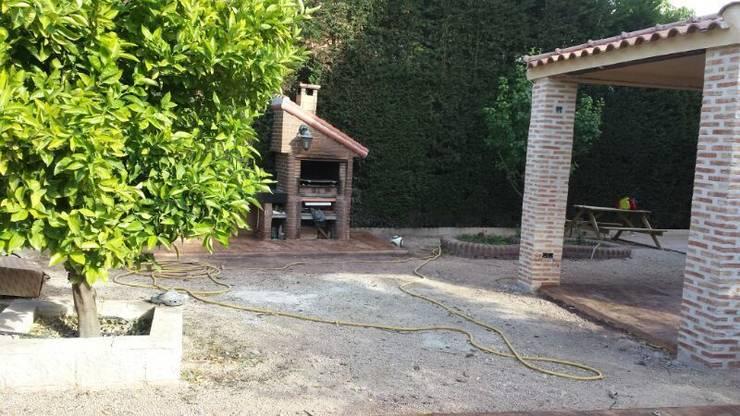 Servicios de jardinería: Jardines de estilo  de Allgrass Solutions