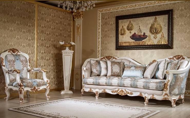 Asortie Mobilya Dekorasyon Aş.  – Esella Klasik Koltuk Takımı :  tarz Oturma Odası