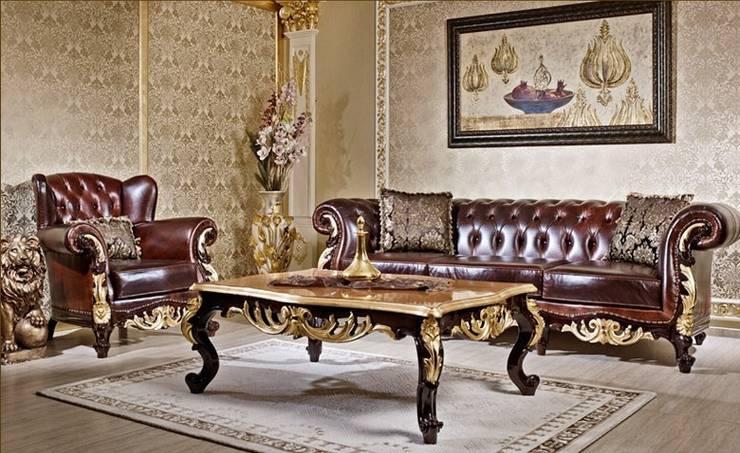 classic Living room by Asortie Mobilya Dekorasyon Aş.