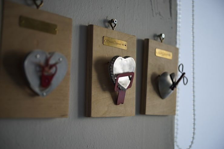 heart opener : brooch: 에코핸즈의  아트워크