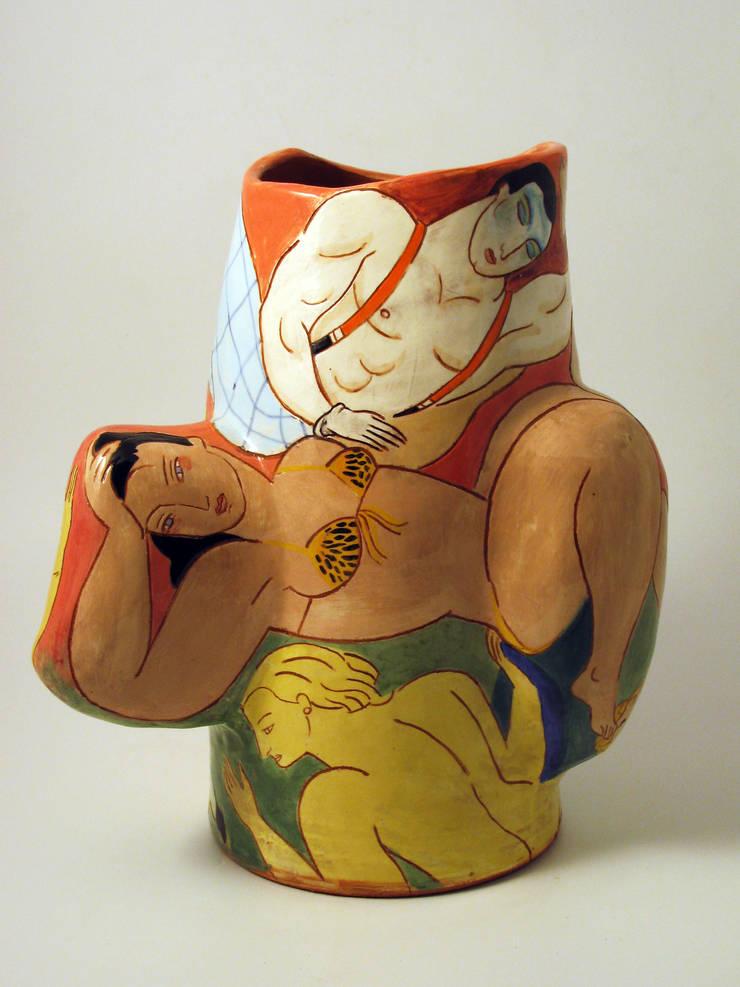 Cirque Imaginaire.:  Artwork by Michael Kay; Ceramic Artist