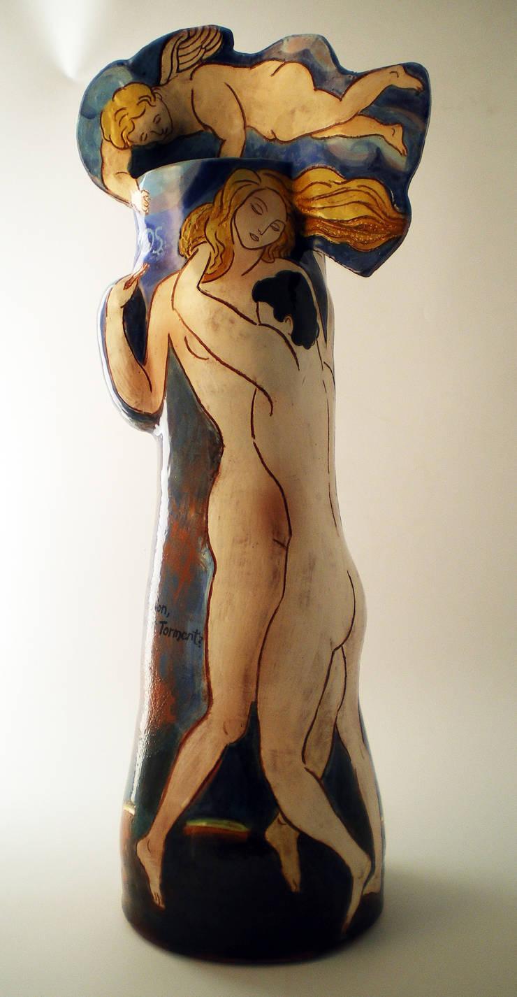 Eros:  Artwork by Michael Kay; Ceramic Artist