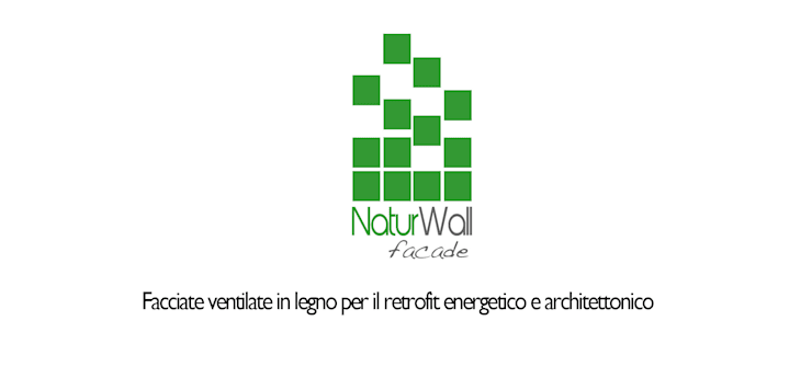Naturwall Facade: Pareti & Pavimenti in stile  di be-eco for sustainable costruction