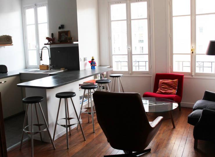 APRES: Salon de style  par Natalie Brun d'Arre