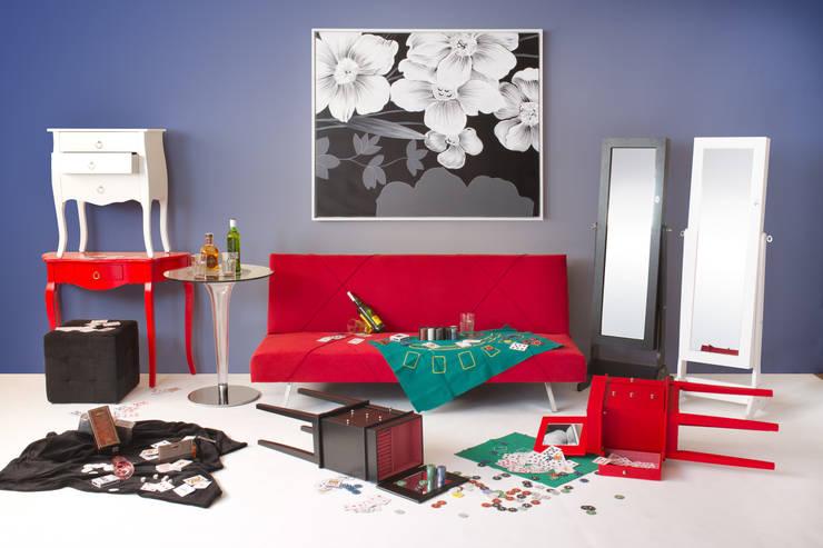 Ambiente poker: Salones de estilo  de Actúa Decor