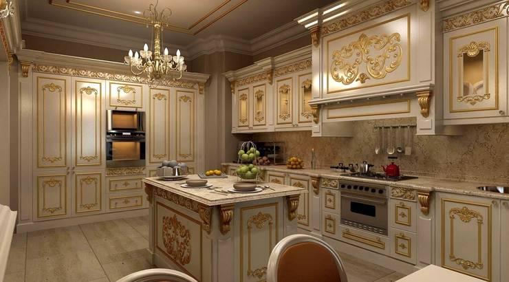 Asortie Mobilya Dekorasyon Aş.  – MUTFAK: klasik tarz tarz Mutfak