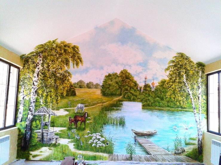 русь: Бассейн в . Автор – Абрикос