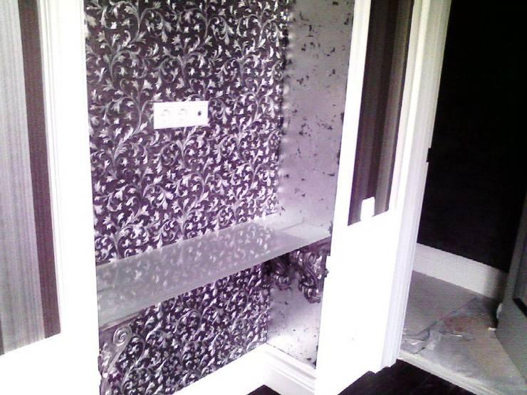 потинацмя поталью линкруста: Ванные комнаты в . Автор – Абрикос