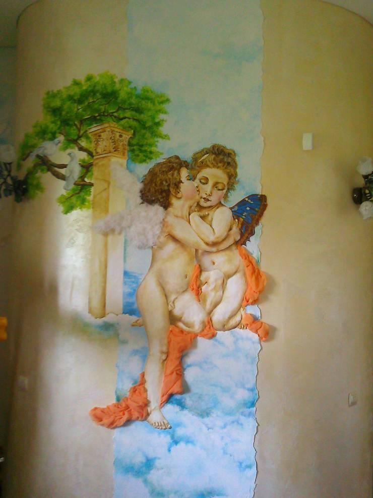 ангелы: Спальни в . Автор – Абрикос