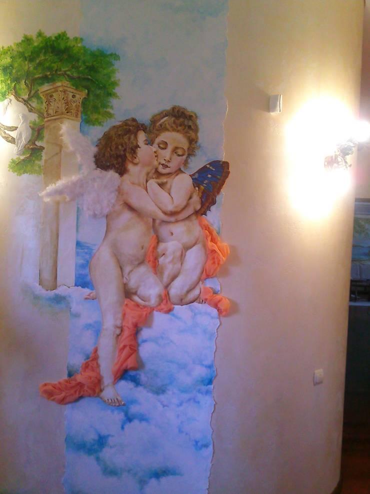 ангелы: Детские комнаты в . Автор – Абрикос