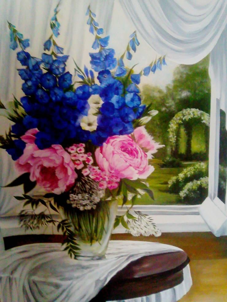 шторка на окно: Кухни в . Автор – Абрикос