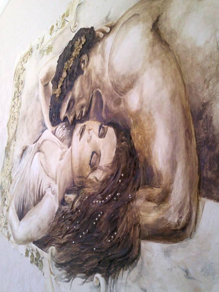 любовь: Спальни в . Автор – Абрикос