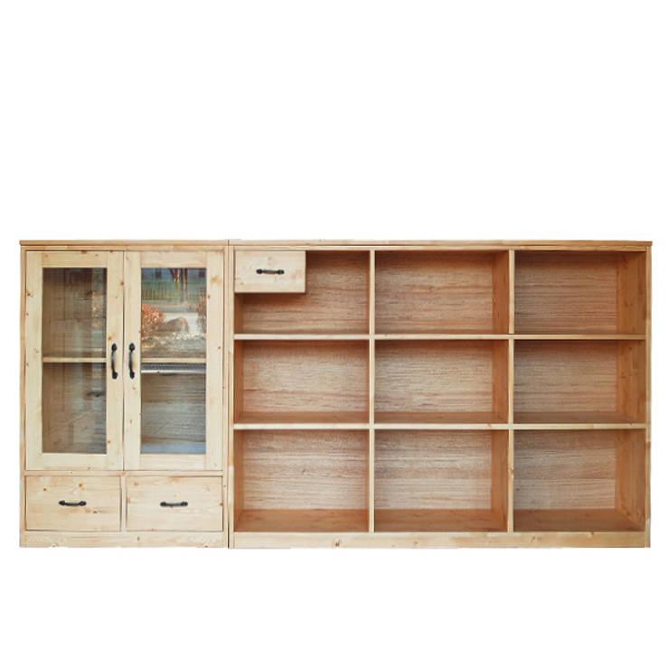 S-Bookchset set: Design-namu의  서재/사무실