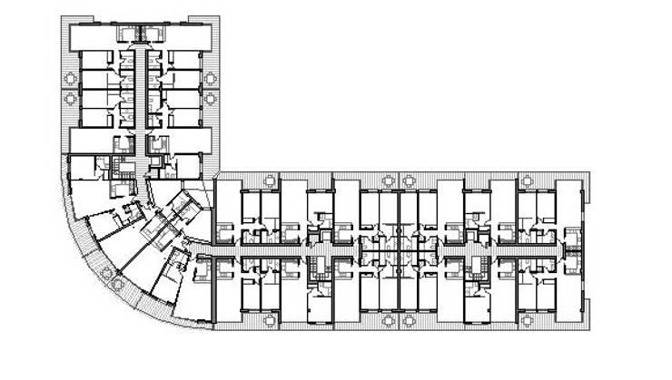 Primera planta:  de estilo  de FG ARQUITECTES