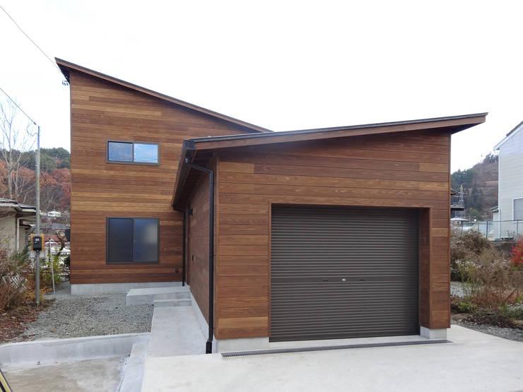 外観1: 田所裕樹建築設計事務所が手掛けた家です。,