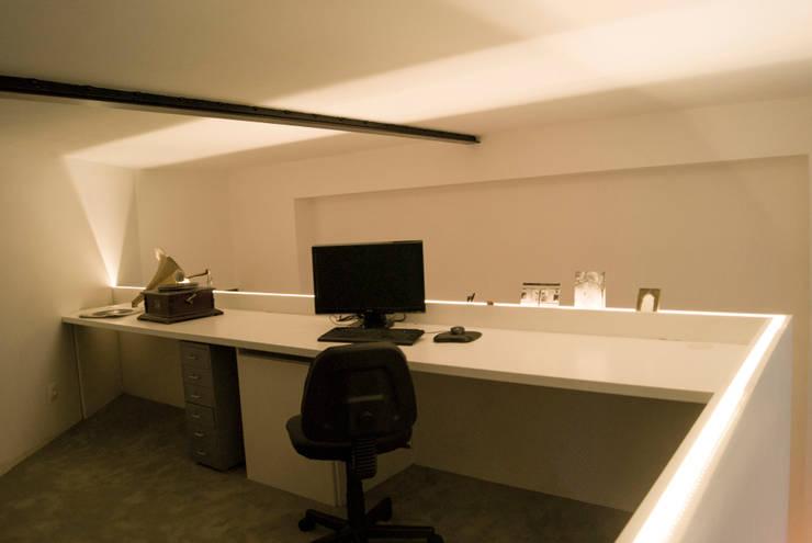 Après - Bureau: Bureau de style  par L&D Intérieur