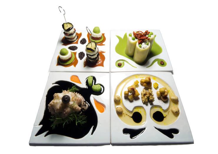 Food Design for Happy Living: Cucina in stile in stile Eclettico di Chiara Ricci Design