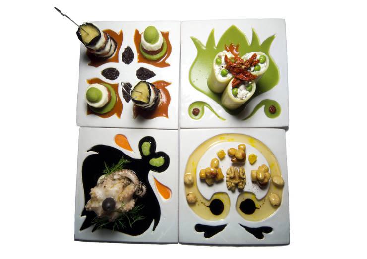 Food Design for Happy Living: Cucina in stile  di Chiara Ricci Design