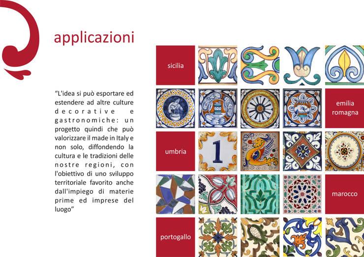 Food Design for Happy Living:  in stile  di Chiara Ricci Design
