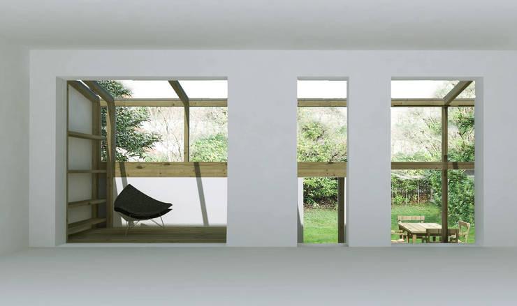 Maison C:  de style  par atelier eem