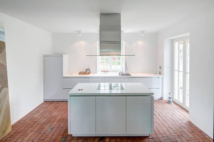 Projekty,  Kuchnia zaprojektowane przez Dr. Michael Flagmeyer Architekten