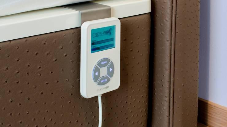 FreshBed Hybride - afstandsbediening:  Slaapkamer door FreshBed
