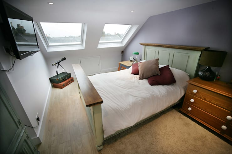Loft Bedroom:  Bedroom by A1 Lofts and Extensions