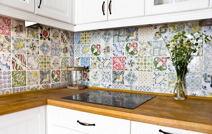 Miśkiewicz Design: akdeniz tarzı tarz Mutfak