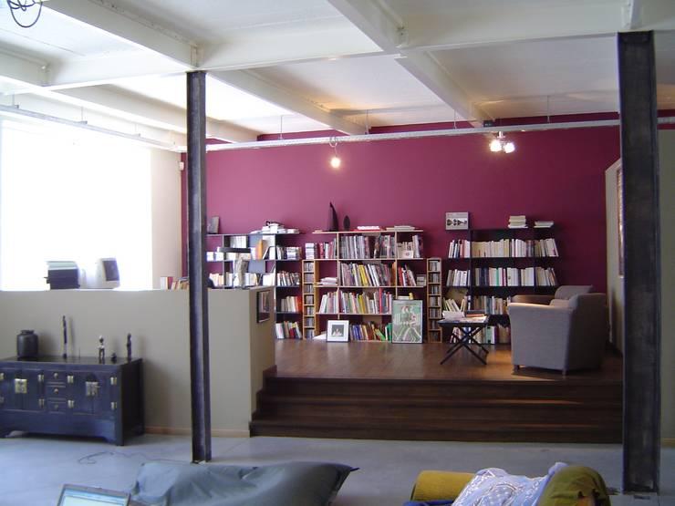 Bureau / bibliothèque: Bureau de style  par Olivier Dubucq