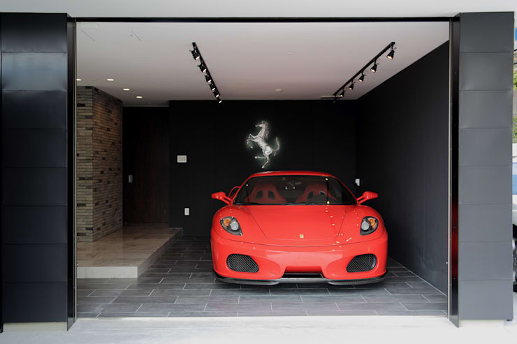 S邸ガレージハウス: 一級建築士事務所・スタジオインデックスが手掛けたガレージです。