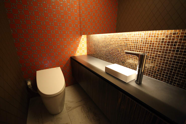 Bathroom by 一級建築士事務所・スタジオインデックス