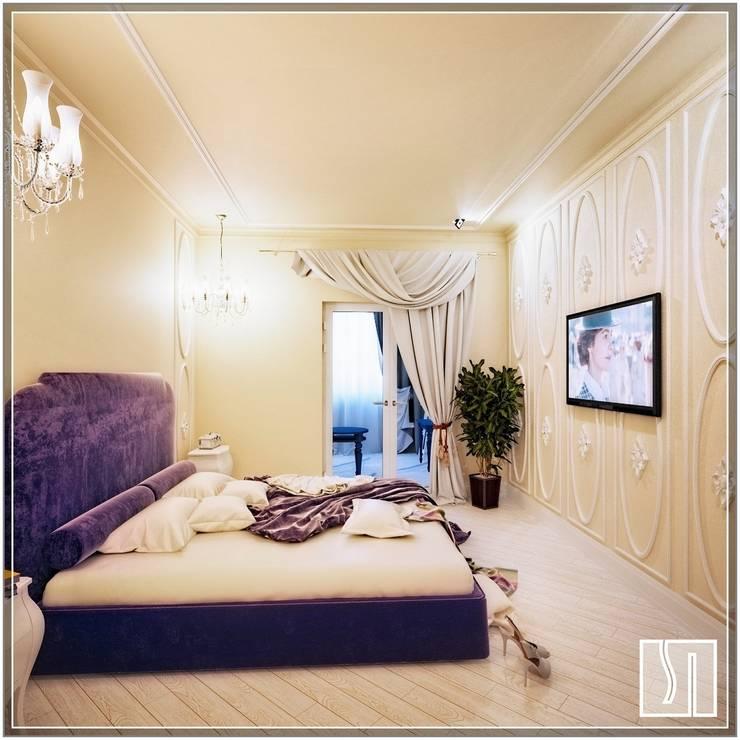 eclectic Bedroom by Студия дизайна Светланы Исаевой