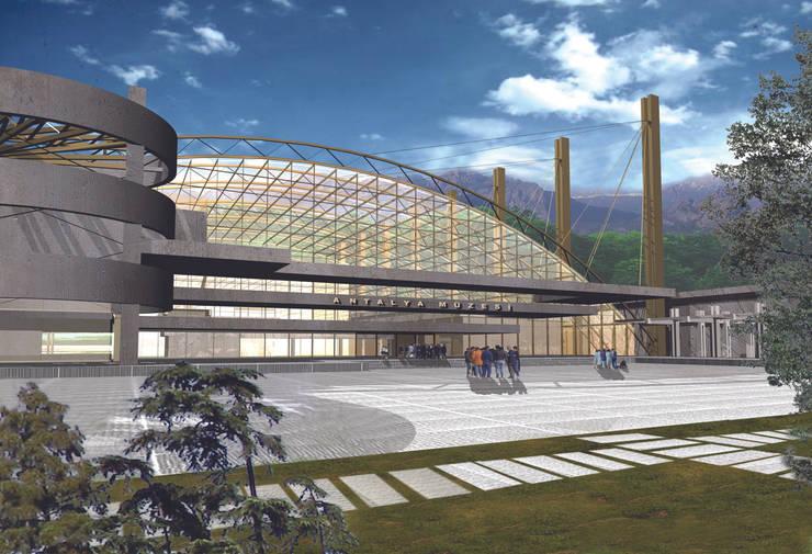Metin Hepgüler – Antalya Müzesi:  tarz Müzeler