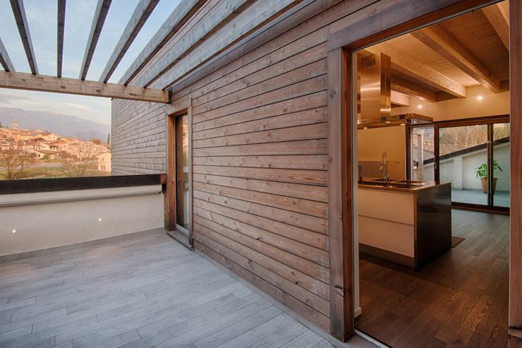 Projekty,  Domy zaprojektowane przez Studio di Architettura Daniele Menichini