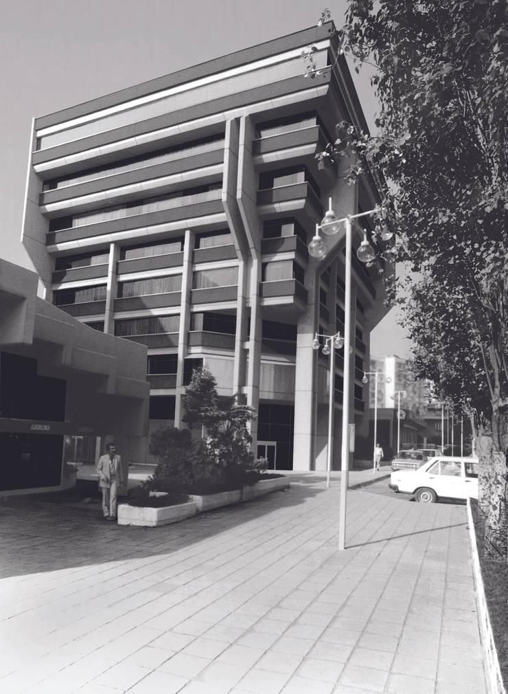 Metin Hepgüler – Tofaş Aygaz HQ:  tarz Ofis Alanları