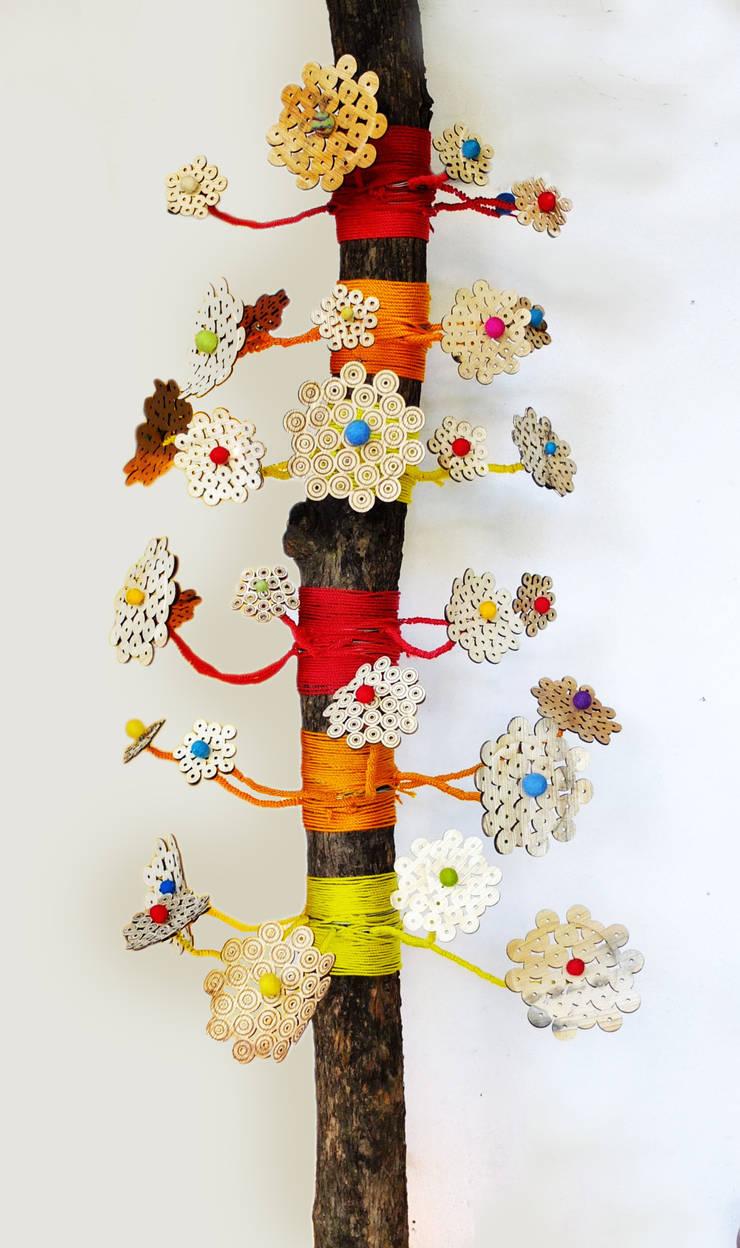 The Mubhi christmas tree: Art de style  par cécilia palomino