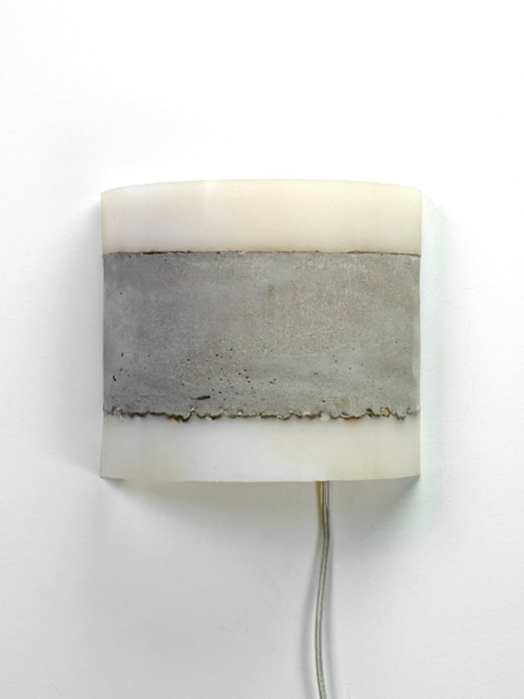 CONCRETE wall lamp:  Keuken door RENATE VOS product & interior design