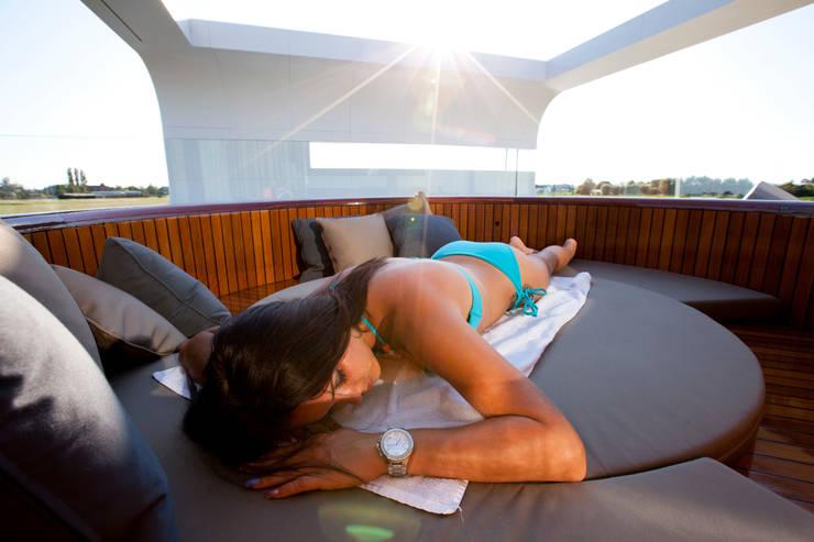WoodCruise zonnen:  Balkon, veranda & terras door WoodCruise