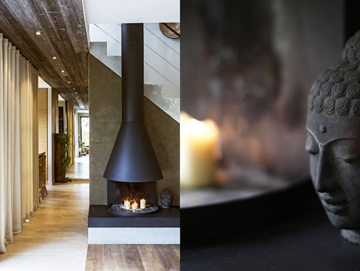 Maison sur les hauteurs: Maisons de style  par Agence MOHA
