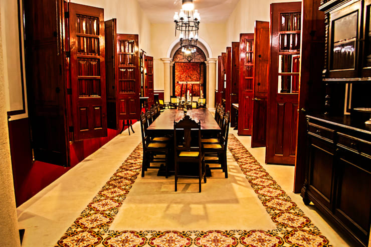 غرفة السفرة تنفيذ Arturo Campos Arquitectos