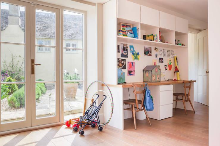 Homework:  Living room by Whitaker Studio
