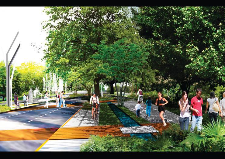 Paseo Montejo:  de estilo  por Arturo Campos Arquitectos