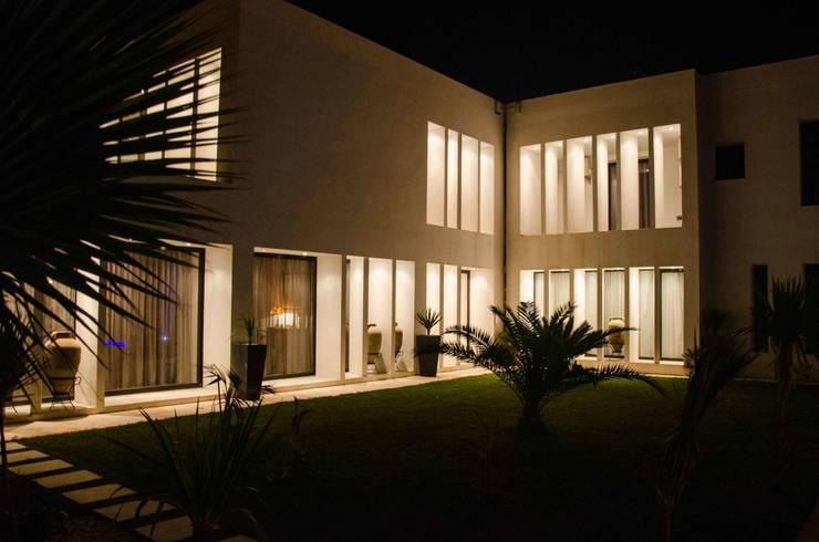 attachment with the depandance: Case in stile  di Ilaria Di Carlo Architect - IDC_studio