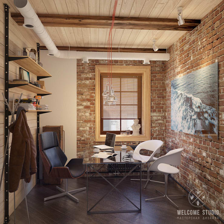 Мастерская дизайна Welcome Studio:  tarz Çalışma Odası