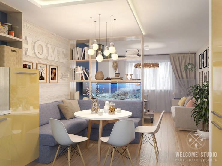 Мастерская дизайна Welcome Studio:  tarz Mutfak