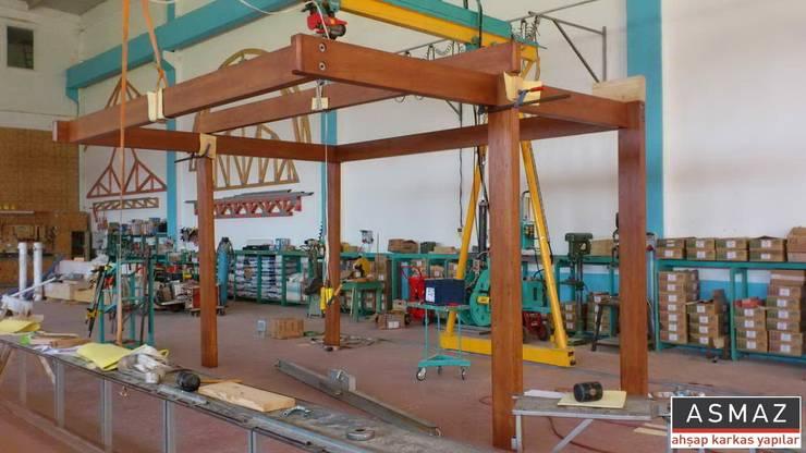ASMAZ Timber Structures – Pergolata İmalat:  tarz Bahçe